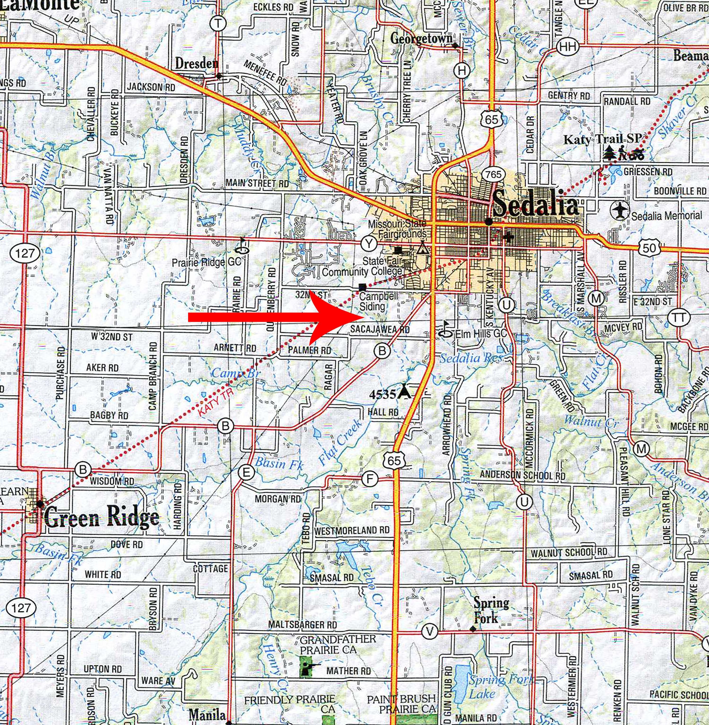Location Map BIR1026