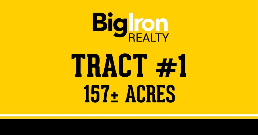 Land Auction 195.48+/- Acres Scotts Bluff County, Nebraska selling in 2 Tracts