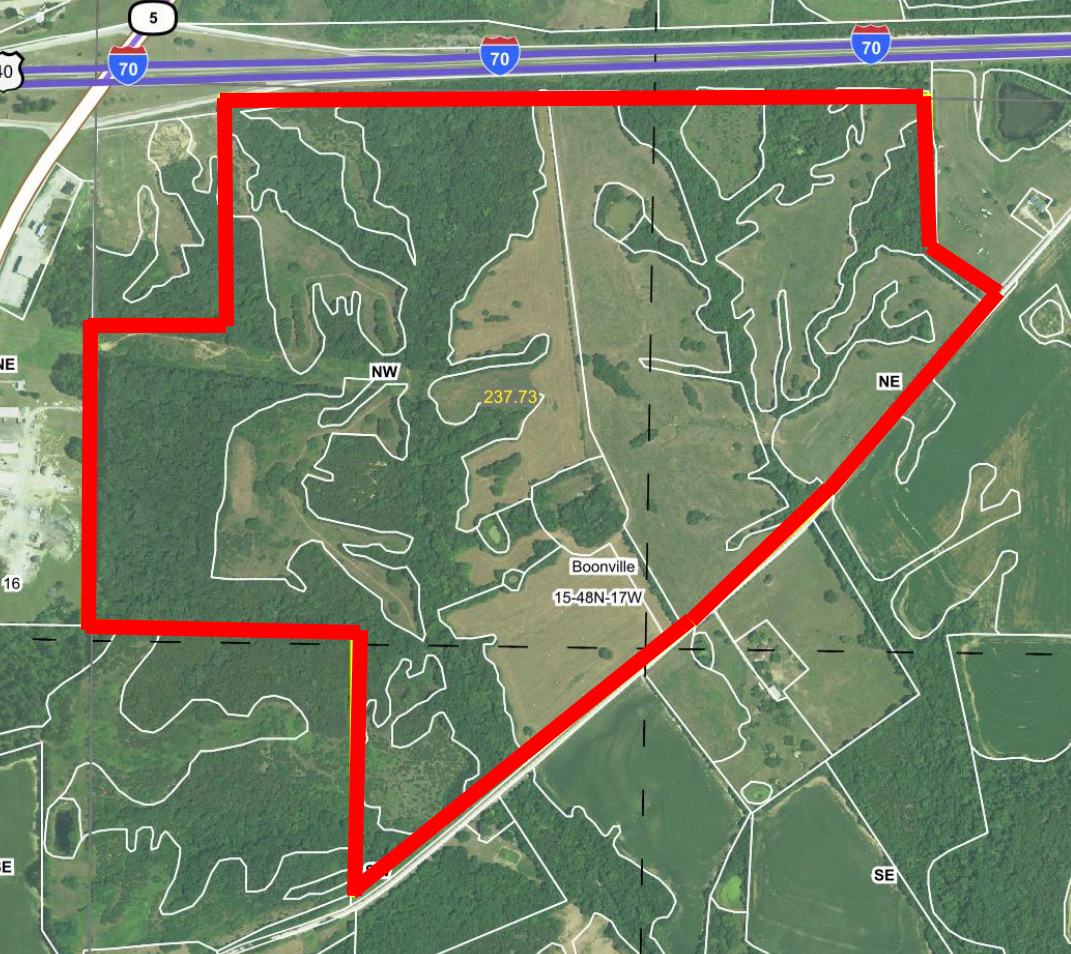 Aerial Map BIR-1036