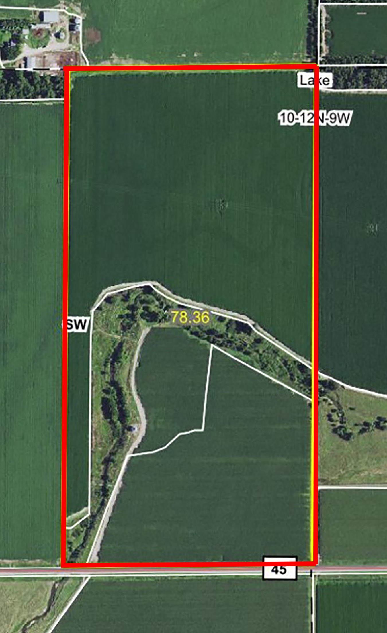 Aerial Map-BIR66