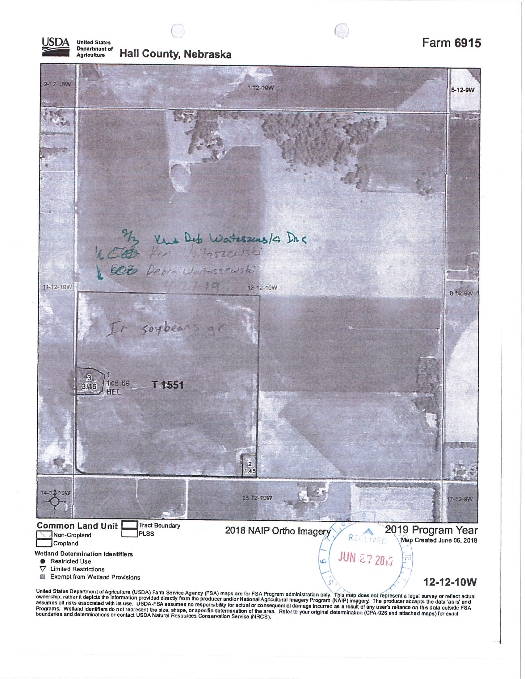 BIR-69FSA Map