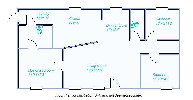 Floor Plan 100 Ohio