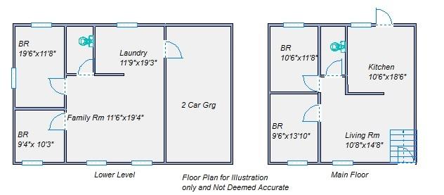 Floor plan 1230 E 8th