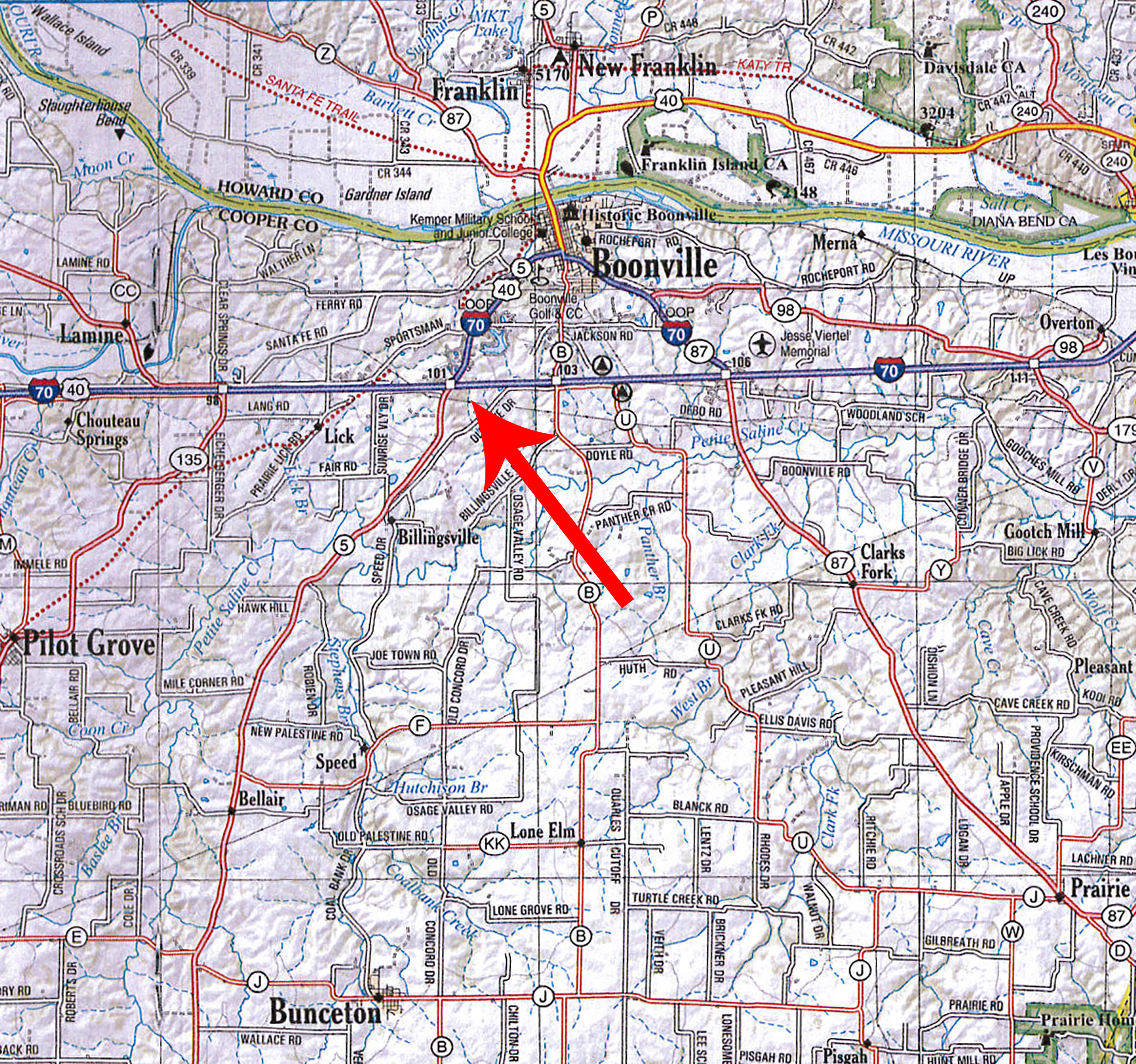 Location Map BIR1036
