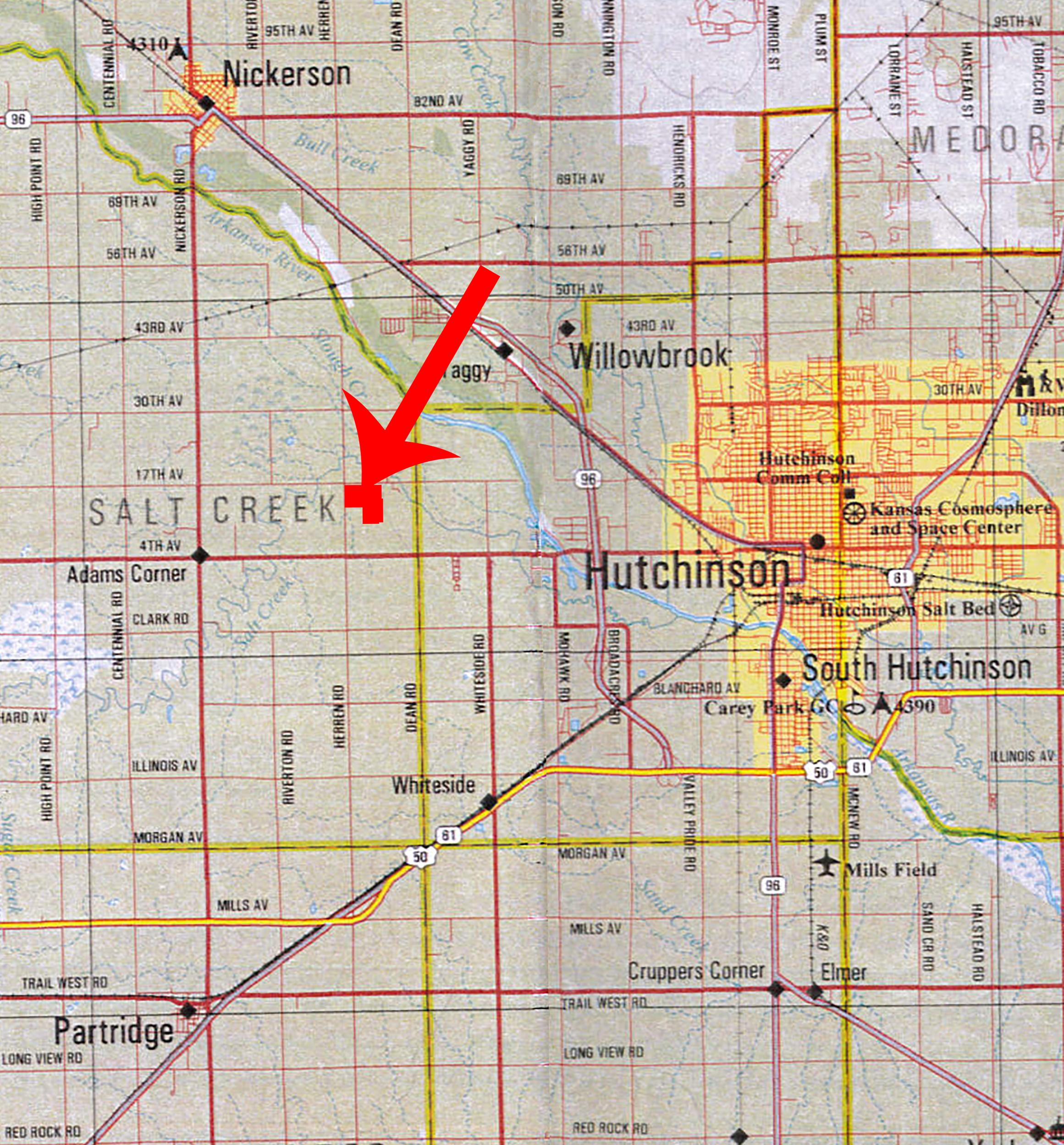 Location Map BIR70