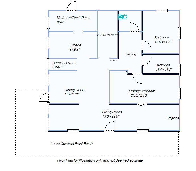 floor plan 460 W 4th