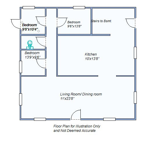 Floor Plan 645 W 8th