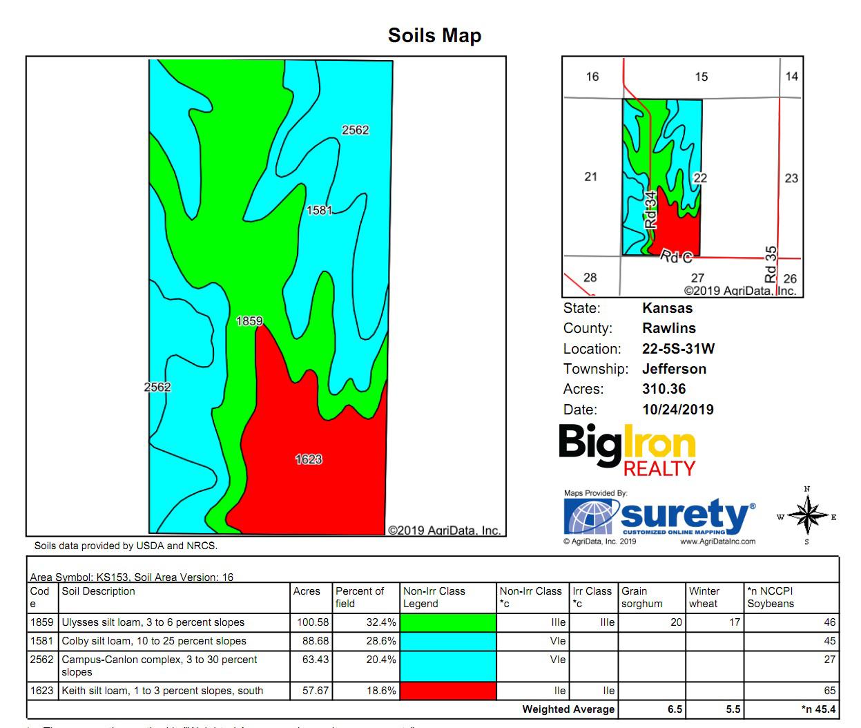 Soil Map 3BIR-73