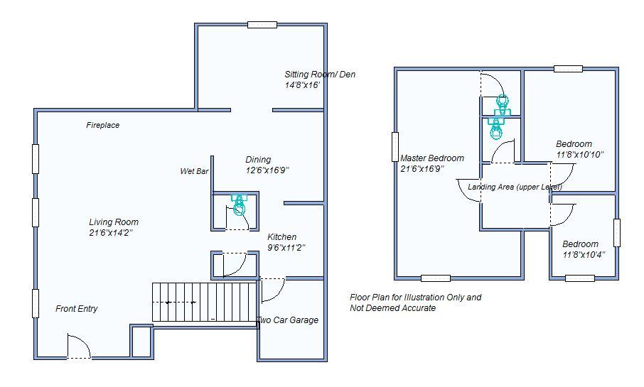floor plan 130 E Plum