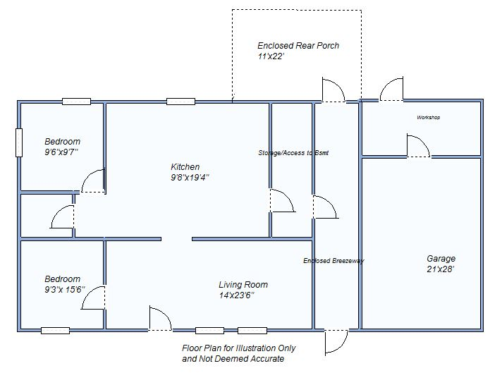 floor plan 215 Illinois