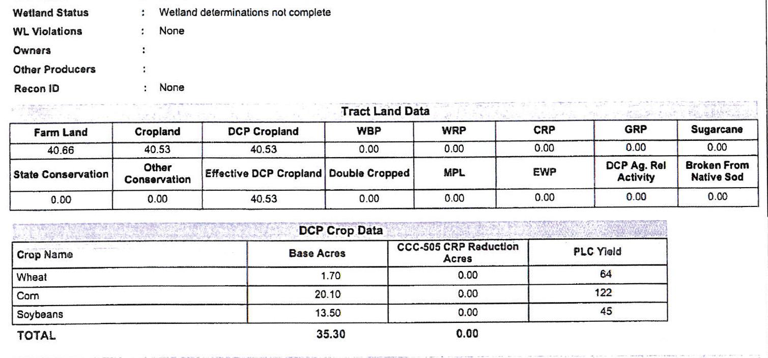 Crop Info 1-BIR78