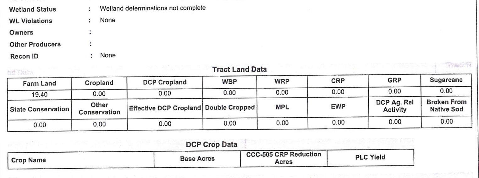 Crop Info 3-BIR78