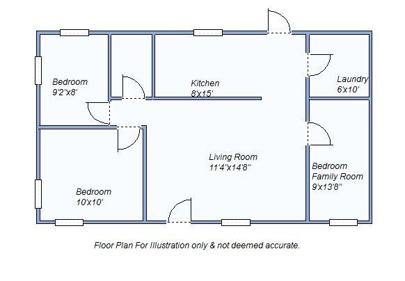 Floor Plan 515 S Grant