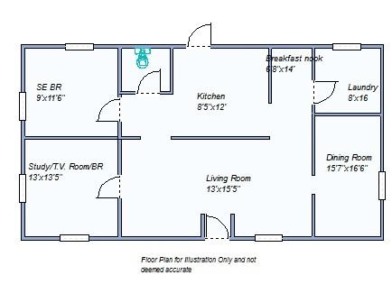 Floor plan main floor 640 W Summit