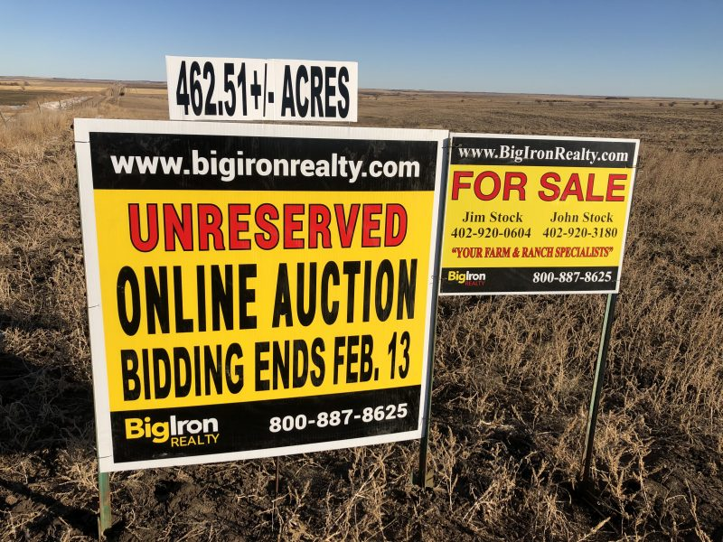 Land Auction 462.51+/- Acres Red Willow, NE