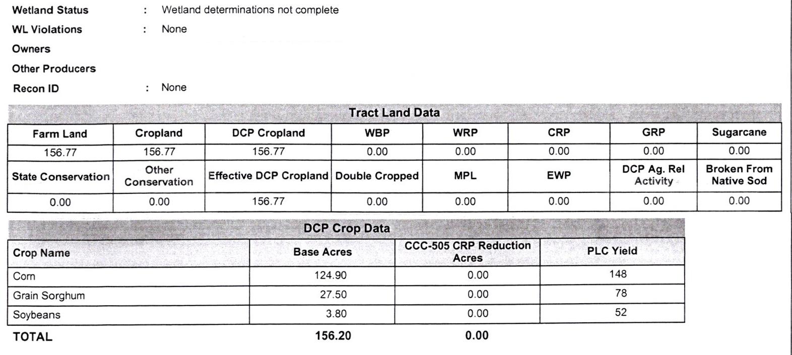 Crop Info BIR-86