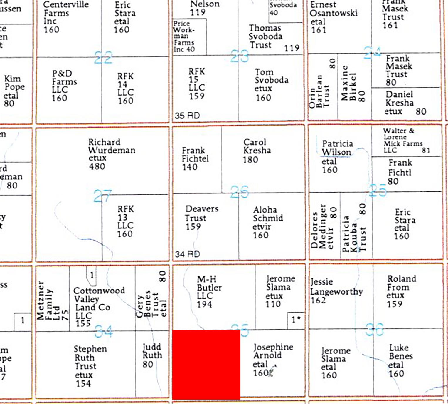 Plat Map BIR-86