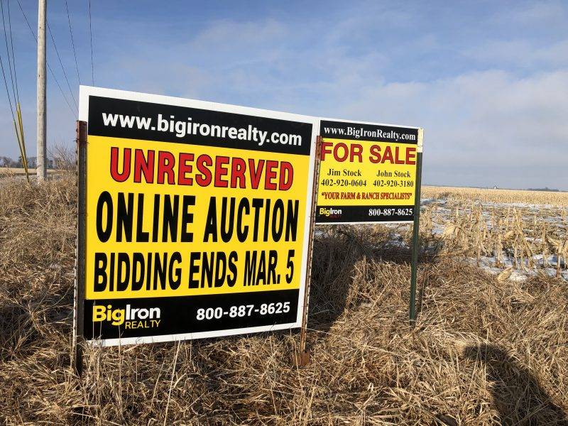Land Auction 160+/- Acres Butler County, NE