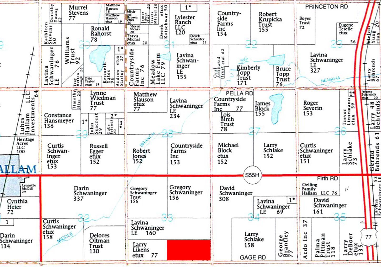 Plat Map-BIR87