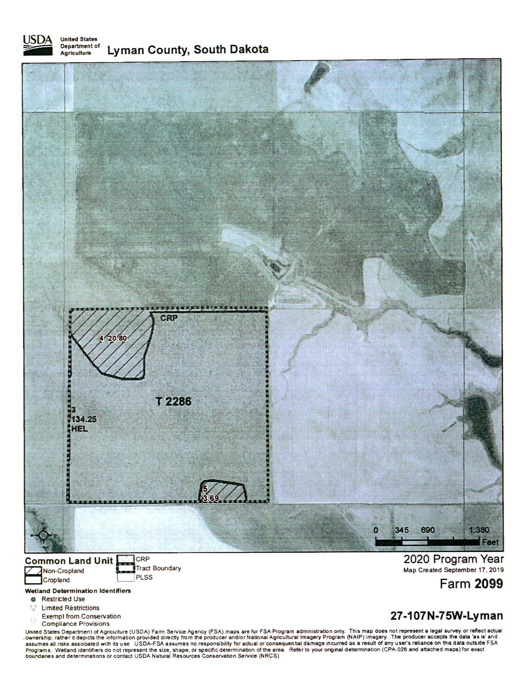 FSA Map_Whitney_BIR-1047