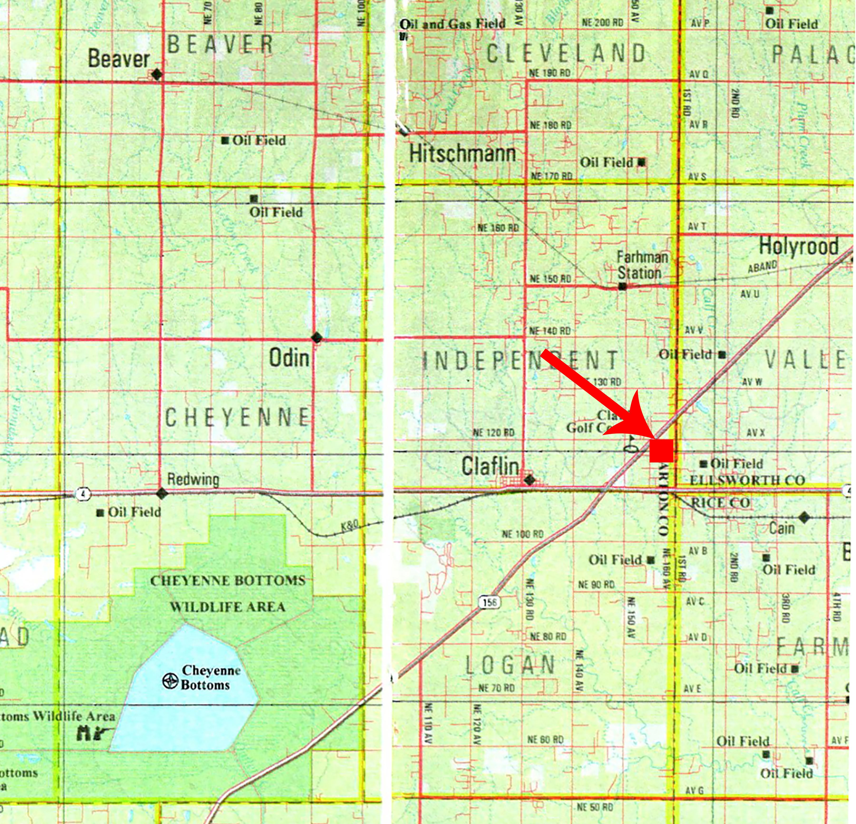 Location Map-BIR89