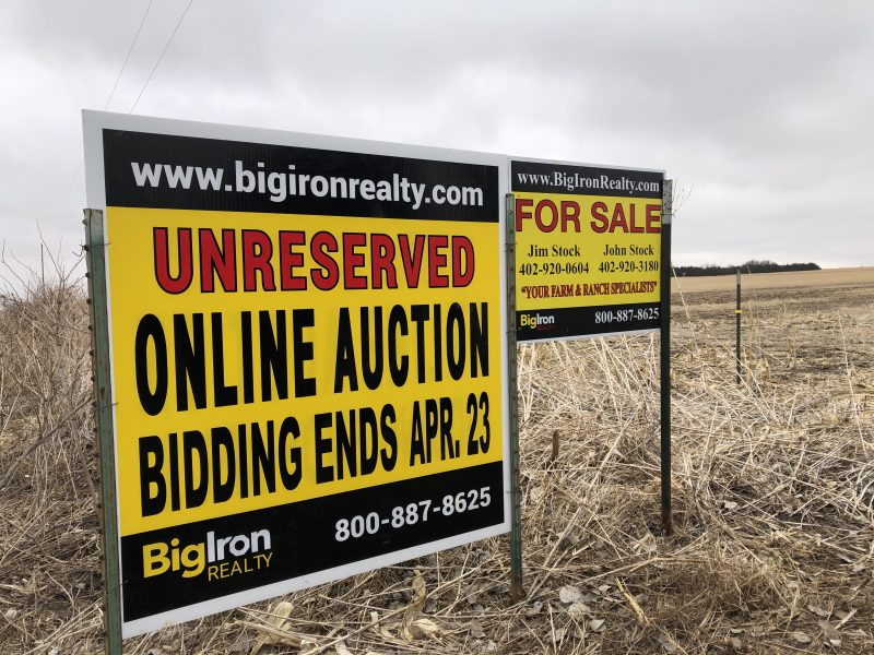 Land Auction 120+/- Acres Pierce County, NE