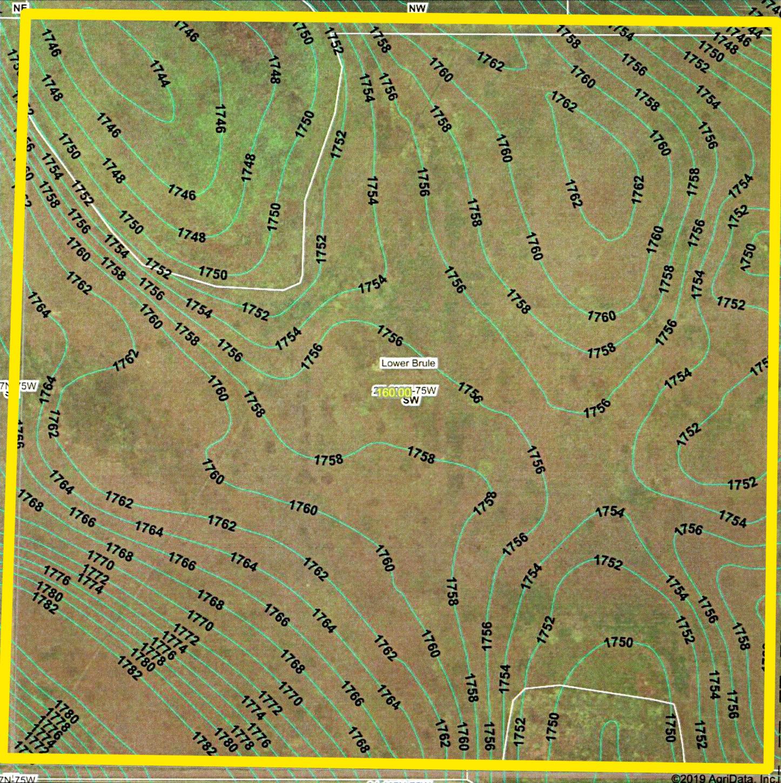 Topography Map_Whitney_BIR-1047