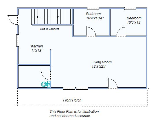 Floor Plan 280 N Sterling