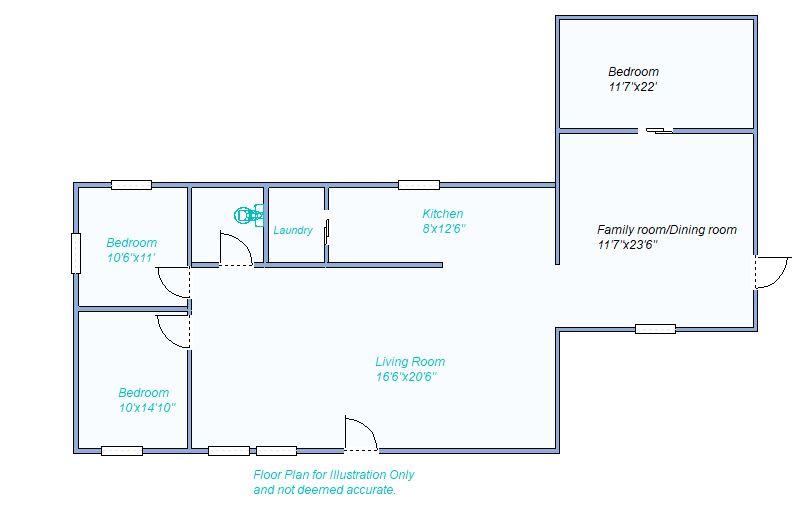 floor plan 810 W Plum