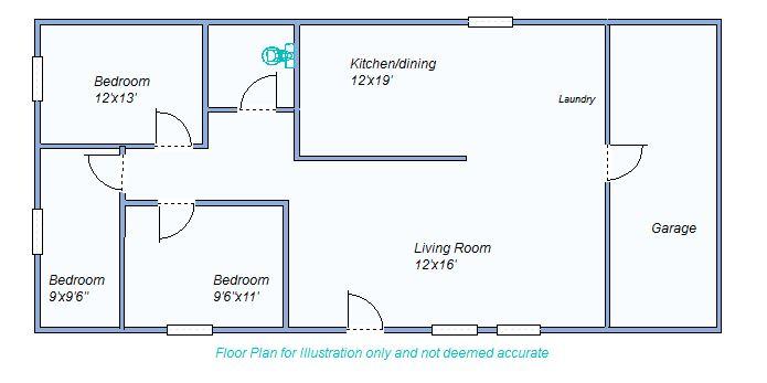 Floor Plan 195 N French