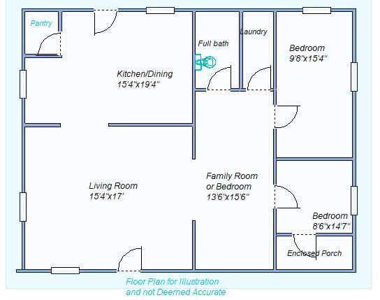 floor plan 10538 Rd Q