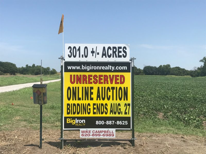 Land Auction Sumner County, KS