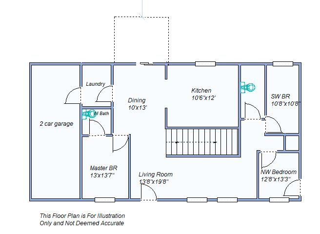 Floor Plan 350 E Cherry