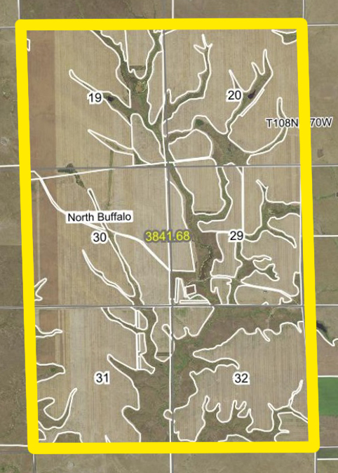 Aerial Map-Buffalo-BIR1051