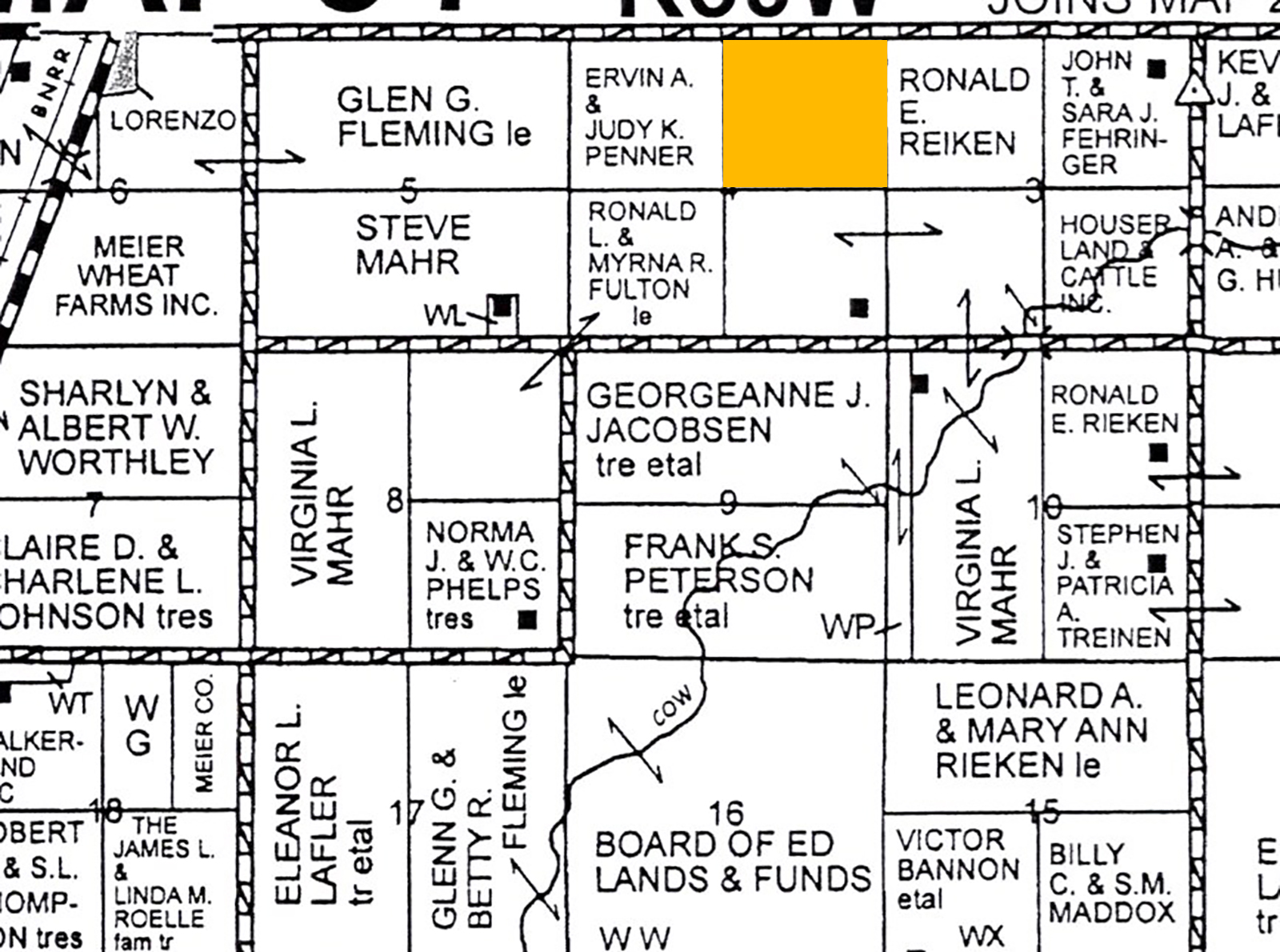 C-1 Plat Map