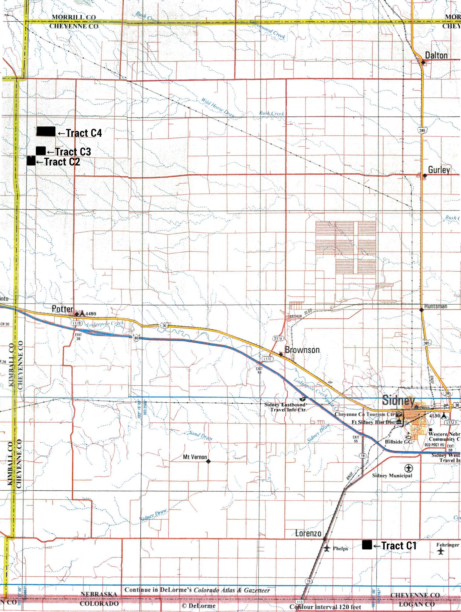 Cheyenne Land Location
