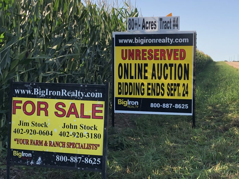 Land Auction 80+/- Acres Platte County, NE
