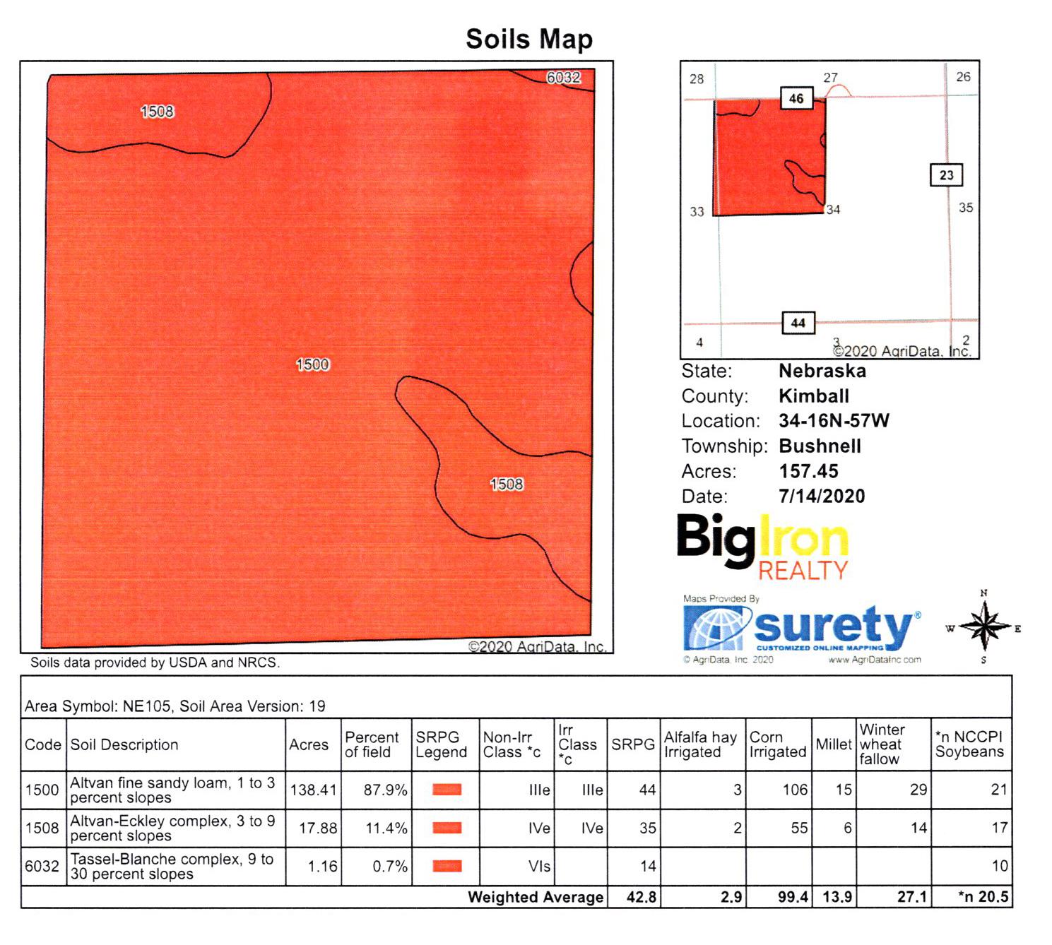 K4 Soil Map