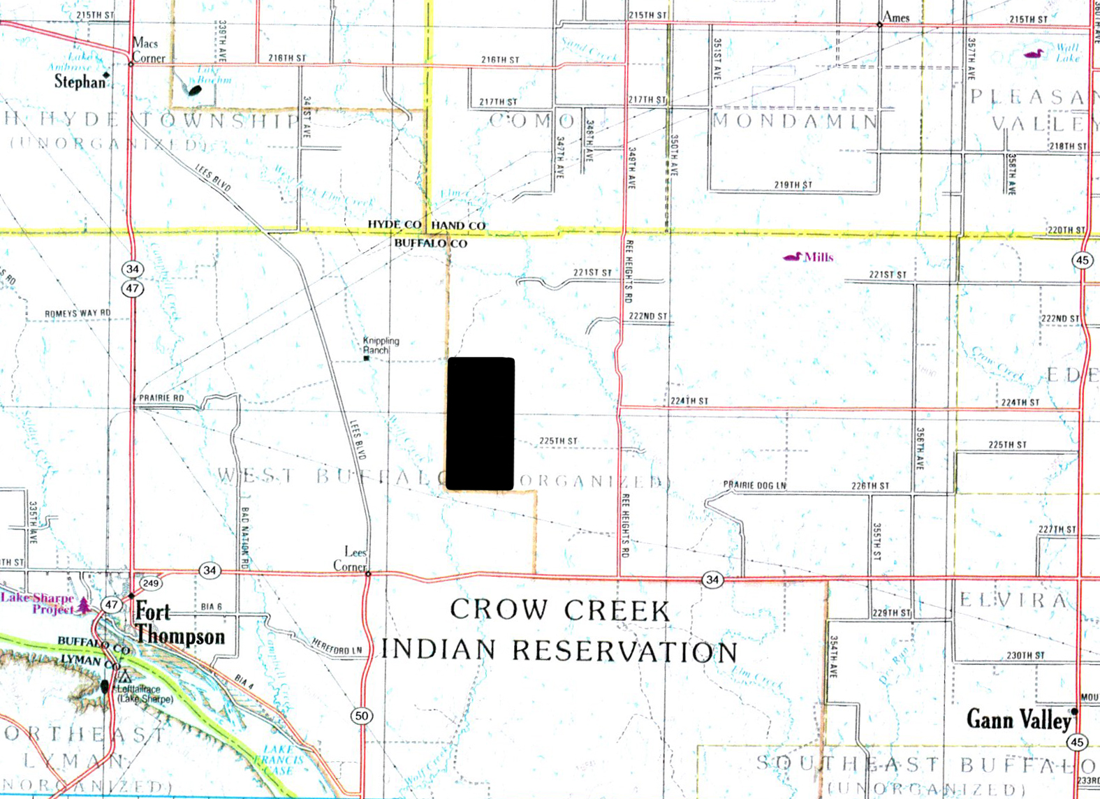Land Location Buffalo-BIR1051