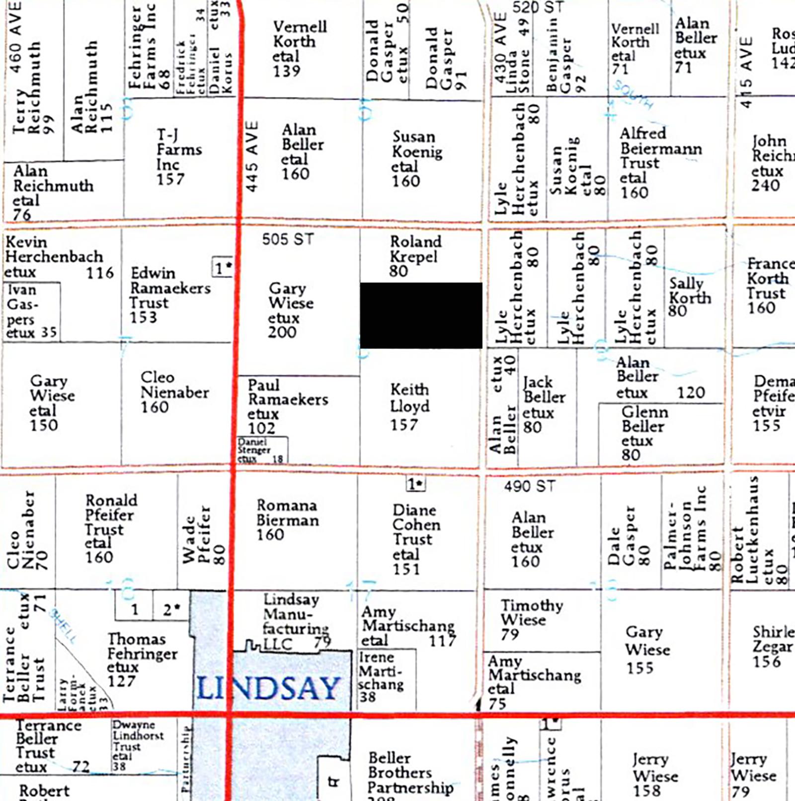 Plat Map BIR97