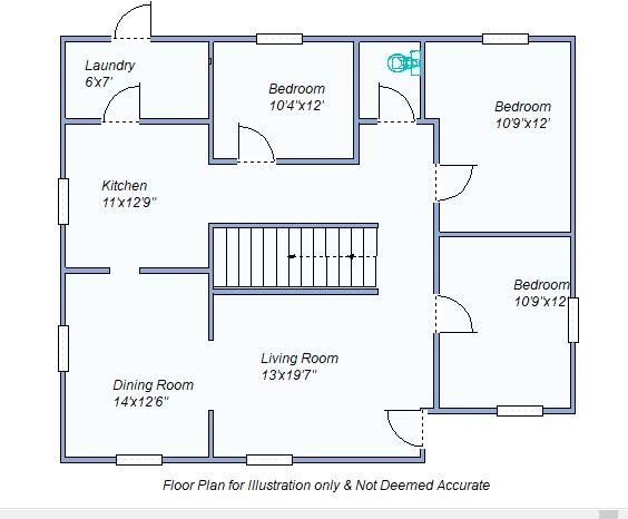 floor plan 135 N Grant