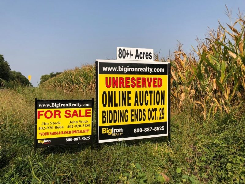 Land Auction 80+/- Acres Polk County, NE