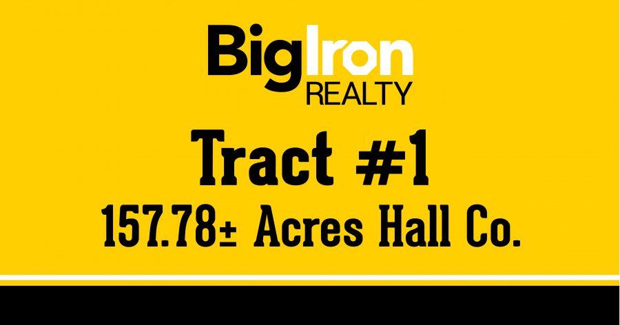 Land Auction 264.52+/- Acres Hall & Buffalo County, NE