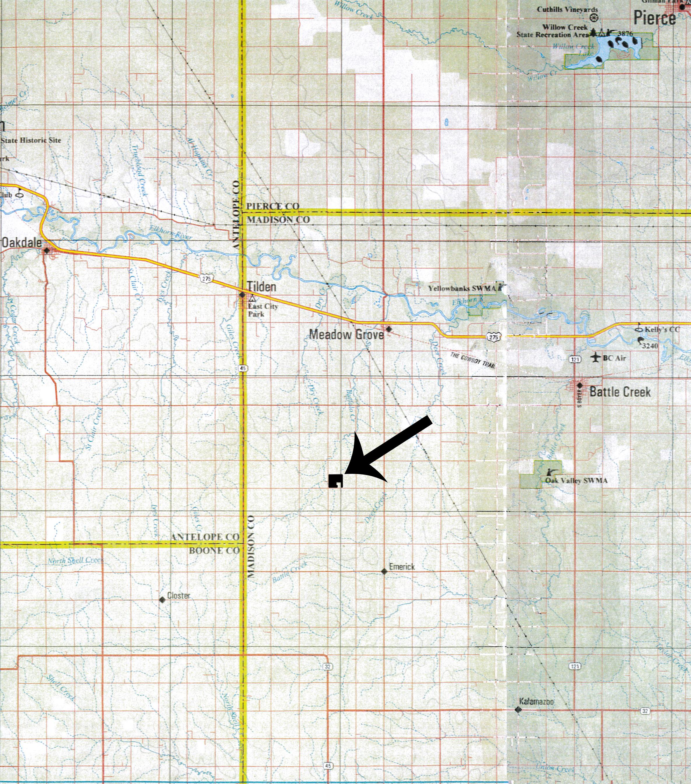 Location Map BIR100