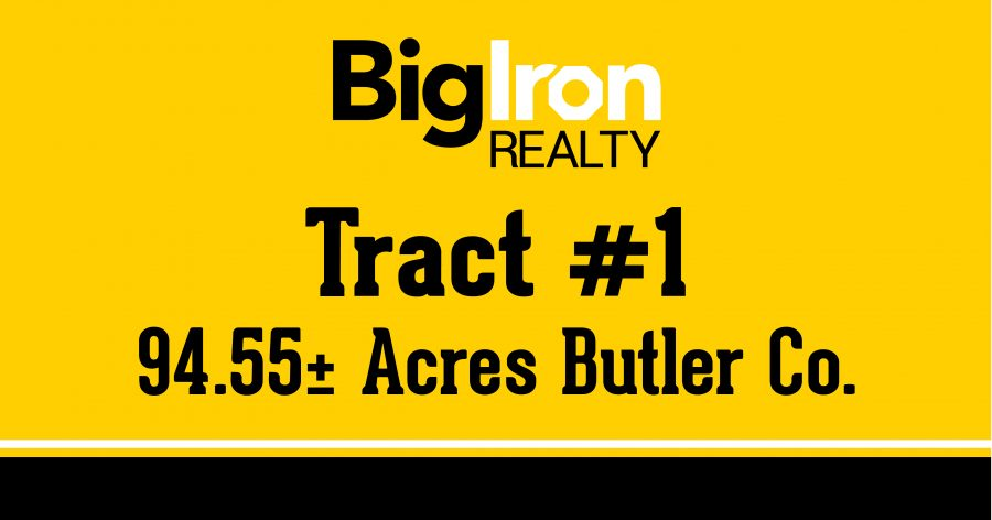 Land Auction  153.5+/- Acres Butler County, NE