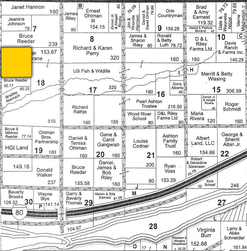 Plat Map1 BIIR98