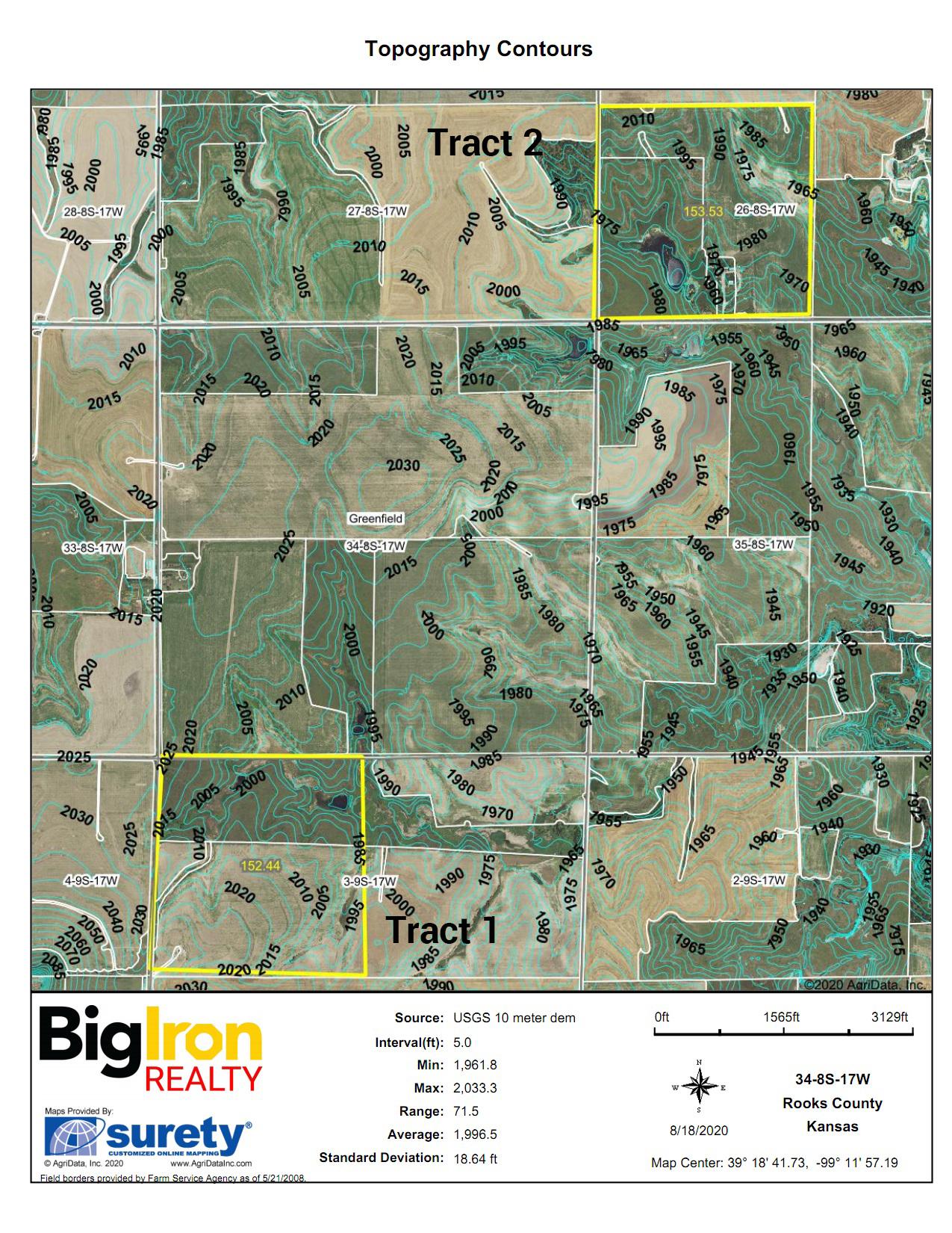 Topography Contours BIR1051