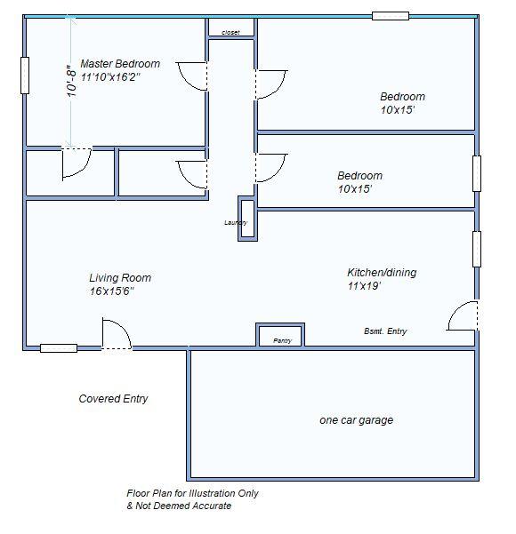 floor plan 215 W Summit