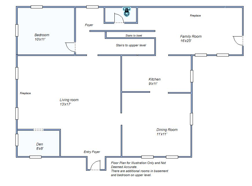 floor plan 425 N Range