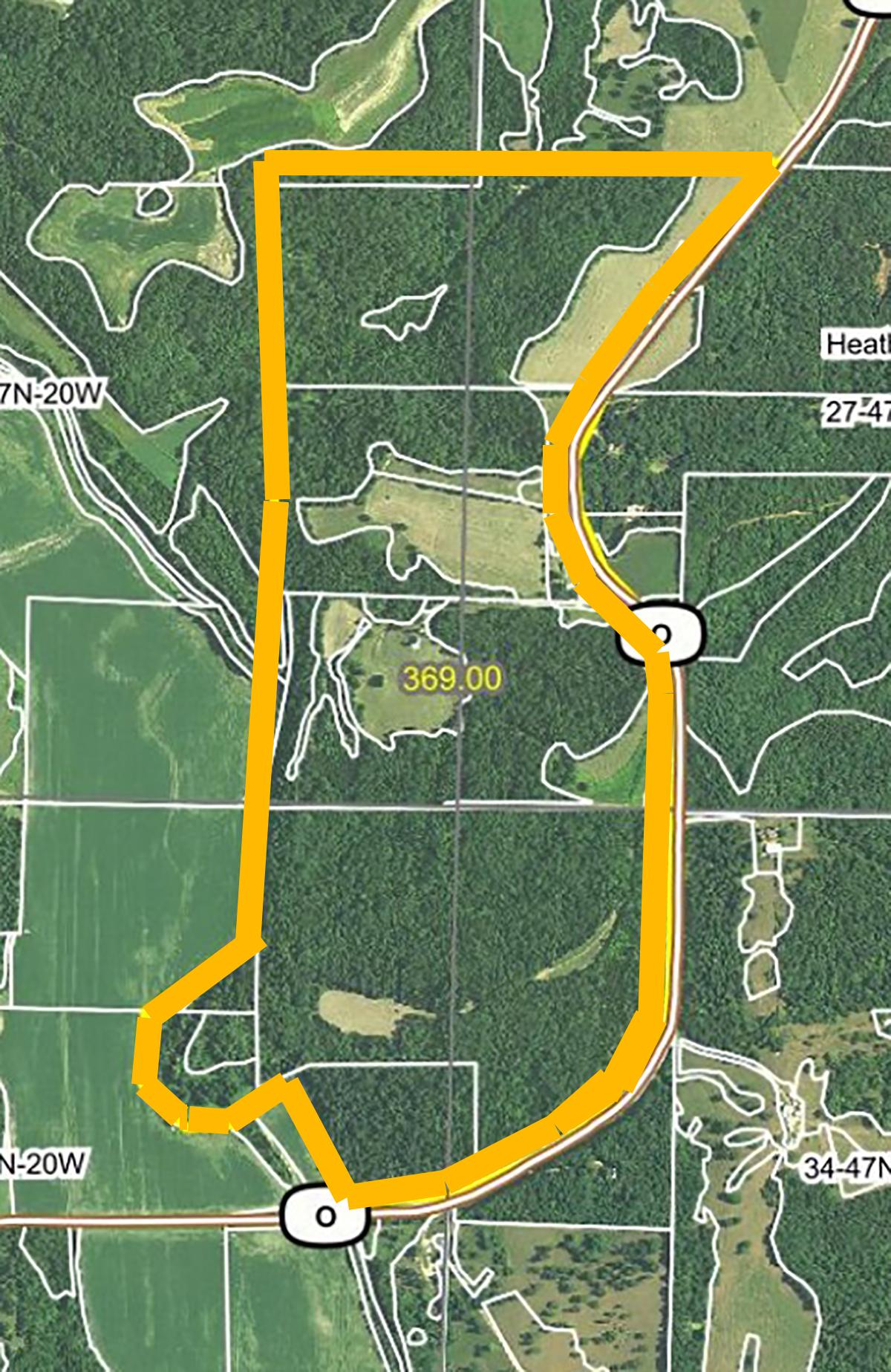 Aerial Map 1-BIR106